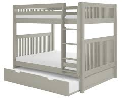 C1614_TR_Primary Camaflexi Full over Bunk Bed with Twin Trundle - Mission