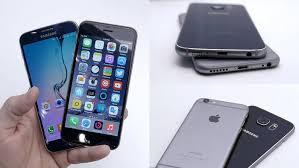 samsung galaxy phones. samsung galaxy vs iphone 6 phones