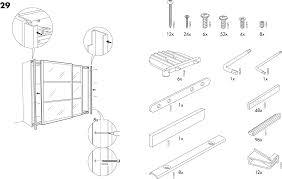 Handleiding Ikea Pax Stordal Schuifdeuren Pagina 3 Van 12 Dansk Ikea Pax Kast Schuifdeuren Handleiding