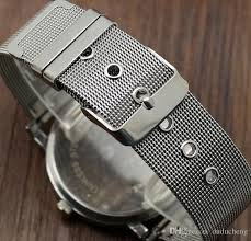 images of wire mesh belts men s wire diagram images inspirations new paidu white black men watch wire mesh belt strap fashion
