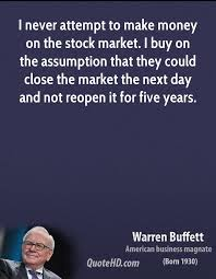 Stock Market Quotes Today Delectable Warren Buffett Money Quotes QuoteHD