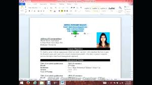 How To Create A Resume On Word Amazing Create Resume On Word Letsdeliverco