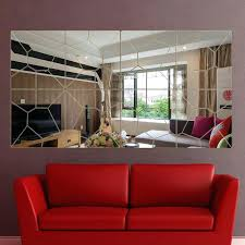 full image for fix broken mirrored furniture broken mirror furniture 56pcs diy broken mirror home decoration