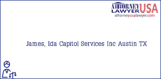 Phone and Address of James, Ida, Capitol Services Inc, Austin, TX, USA |  Find your Attorney / Lawyer in USA Quickly - AttorneyUsaLawyer.com