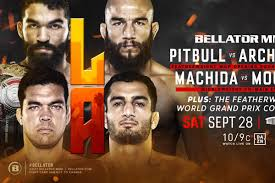 The stacked event features a welterweight title fight between champion rory macdonald and neiman gracie. Bellator 228 Results Live Streaming Play By Play Updates For Pitbull Vs Archuleta Mmamania Com