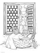 Small Picture Maleficent coloring pages Free Coloring Pages