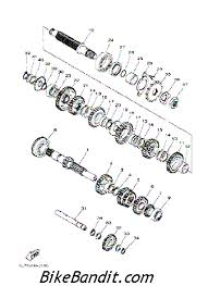 yamaha raptor 660 parts diagram yamaha image 2004 yamaha raptor 660r yfm660rs transmission parts best oem on yamaha raptor 660 parts diagram