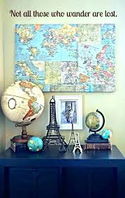 travel themed wall decor stunning inspired room decorating ideas home design diy