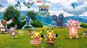 Pokemon Go Fest 2021 hàng năm đã bắt đầu - VI Atsit