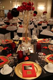 valentine decorations for office. Valentine Office Decorating Ideas Red Black And Gold Table Decorations For 50th Birthday Party V