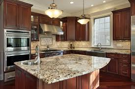 how to fix a discolored granite counter