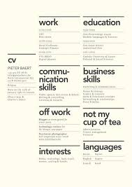 40 Creative Resume Design Layouts That Will Set You Apart Magnificent Resume Lay Out