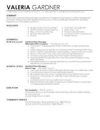Assistant Store Manager Resume Best Assistant Property Manager Resume Fresh Assistant Store Manager