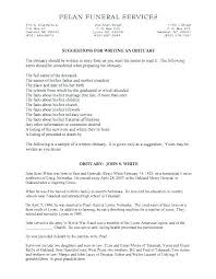 Obituary Notice Template Printable Sample Obituary Death Notice ...