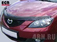 <b>Дефлектор капота</b> EGR для <b>Mazda</b> 3 седан (2003-2009 ...