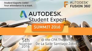 autodesk student expert summit 2016