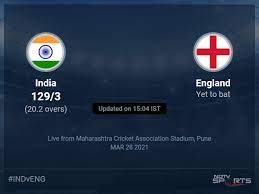Darwin odi cricket league 2020 live cricket score: India Vs England Live Score Over 3rd Odi Odi 16 20 Updates Cricket News