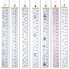 Childrens Height Growth Chart Measure Wall Hanging Ruler