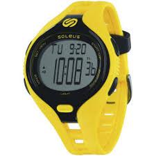 running watches 2017 soleus dash mens yellow digital running watch
