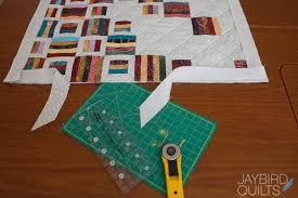 Single Fold Binding Tutorial   Jaybird Quilts & Cut along the new line to trim off the excess binding. Adamdwight.com
