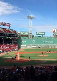 Stubhub Fenway Seating Chart Fenway Park Section Grandstand 17 Row 7 Seat 15 Boston