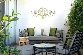 patio wall art great decor ideas garden decors outdoor collection in iron
