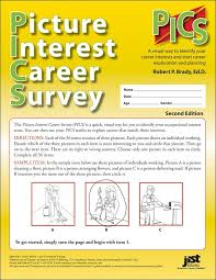Printable Surveys Adorable Picture Interest Career Survey Second Edition JIST Career