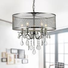 5 light modern crystal iron chandelier dk rl5634