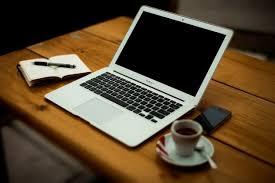 laptop office desk. Brilliant Laptop Laptop With Coffee On Office Desk Free Photo On Office Desk T