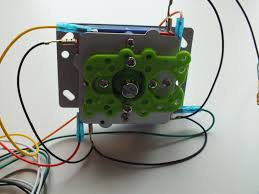 ultracabs arcades jamma in guide the ground wires are the section of black wires that are looped in a daisy chain together run the ground wire from the joystick to each button creating a