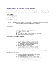 Sample Student Resume With No Working Experience Student Resume Templates No Work Experience Resume Corner 3