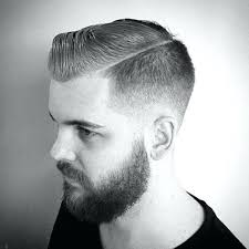 Comb Over Hairstyles 41 Amazing Men Comb Over Haircut Taper Fade B Over With Beard Prettyswellblog