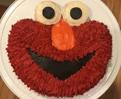 How To Make An Easy Elmo Birthday Cake For Cheap A Diy Tutorial