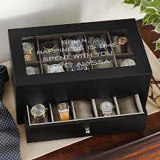 personalized gifts for men unique gifts for him personal creations timeless treasure 20 watch box