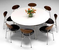 beautiful delightful large round modern dining tables dining table ideas big round dining table