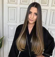 Opções em cabelos curtos, médios ou longos, cacheados, lisos. Ombre Hair Long Bob Ombre Hair Morena Iluminada Cabelo Liso Novocom Top