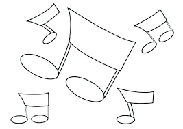 musical note coloring sheet music notes coloring sheets torster info