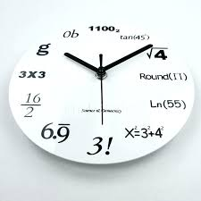 45 inch wall clock inch wall clock 8 inch acrylic wall clock creative math equations decorative wall home decor inch wall clock