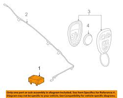 gm oem keyless entry receiver 20803735 ebay gm part number cross reference at Gm Oem Parts Diagram