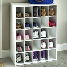 closet maid shoe organizer compartment pair rack attractive regarding closetmaid 25 cube espr