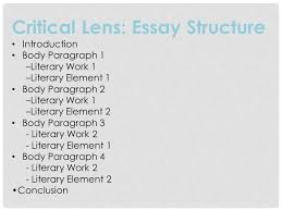 goals final project critical lens ms bugasch english h  5 critical lens essay