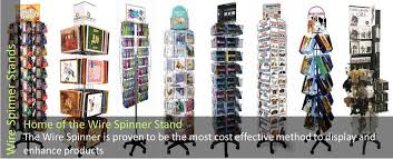 Spinner Display Stands Stunning Westminster Wire Display Stands For Greetings Cards Calendars