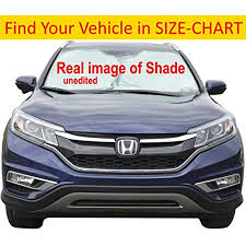 Car Sun Shade For Windshield Hassle Free Size Chart For Your Car Truck Suv Minivan Excellent Uv Reflector Keeping You Cooler With A Pristine