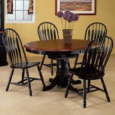 48 inch round dining table wooden