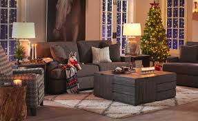 Leave some room for people to prop their feet up, place a cup on the table or play a game. Holiday Decor Christmas La Z Boy