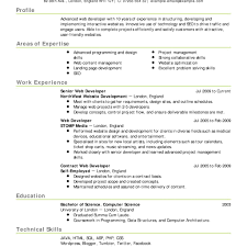 Net Developer Resume Sample Sample Resume Of Net Developer Fred Resumes 71