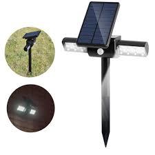 Solar Sensor Light Big W 1 5w Solar Led Pir Motion Sensor Lawn Light Waterproof Outdoor Garden Wall Landscape Spotlight