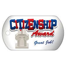 Citizenship Award Brag Tags Schoollife Com