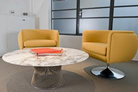 platner furniture. Coffee Table Polished Of Platner Side With Yellow Sofas And Grey Floor Carpet Furniture E