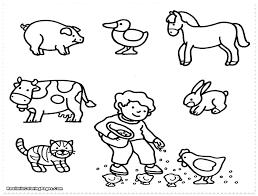 Zoo Animal Coloring